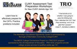 CUNY Assessemtn test